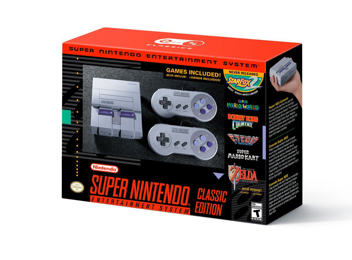 Super NES Classic Pre-orders are out and Everyone hatesNintendo