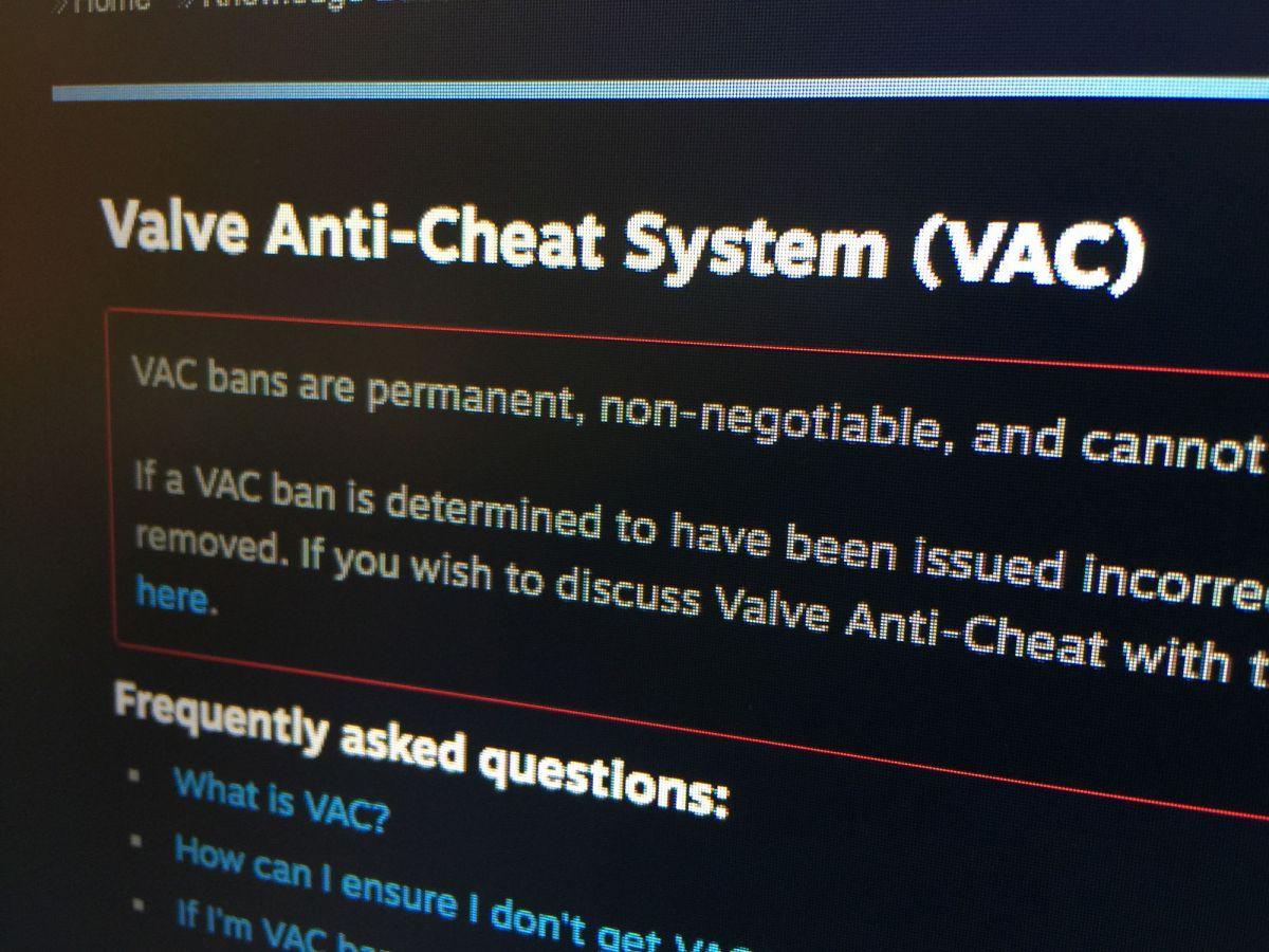 Valve Brings the BanHammer