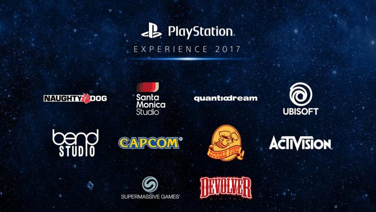 PlayStation Experience 2017 Exhibitors and Playable Demos