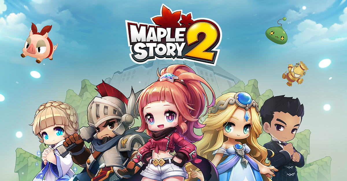 MapleStory 2 finally releases for the West