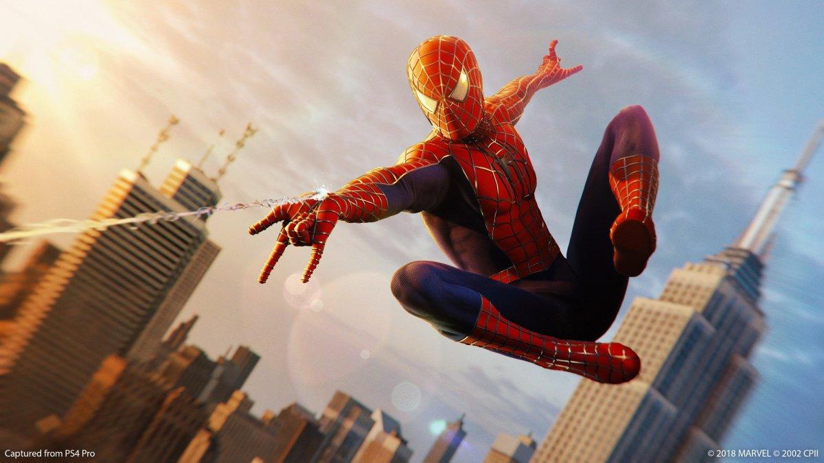 Sam Raimi Spider-Man Suit added to Spider-ManPS4