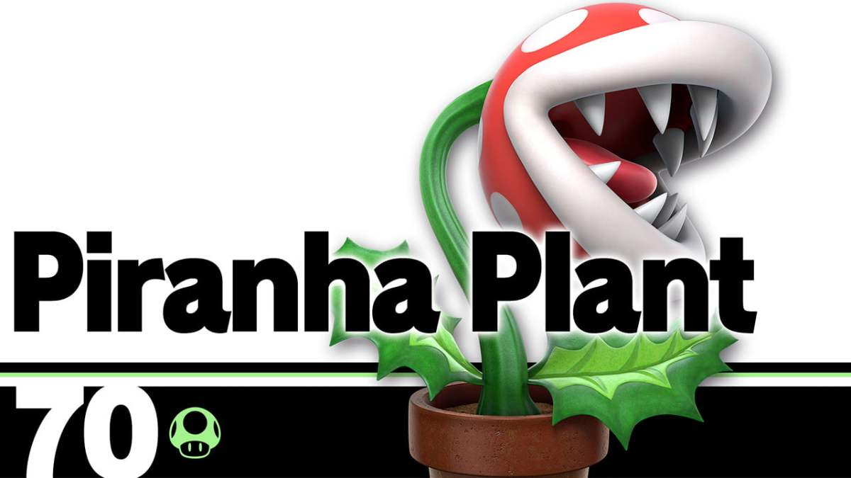 CAUTION FOR SMASH Players! Avoid playing Piranha Plant in All-StarsMode