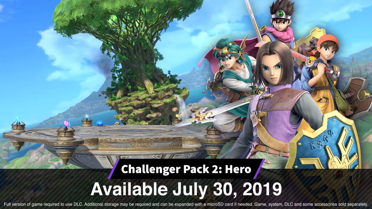 """""""Hero"""" releases Today on Super Smash BrosUltimate!"""