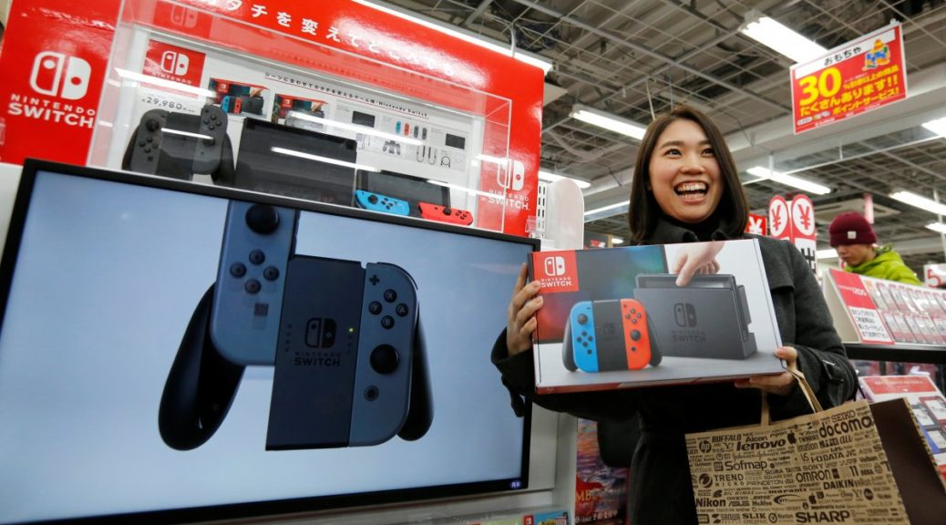 The Nintendo Switch has Surpassed the PlayStation 4 inSales