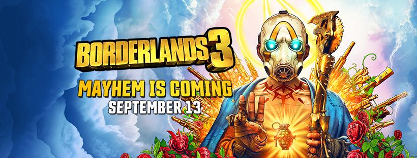 Borderlands 3 will release September13th!